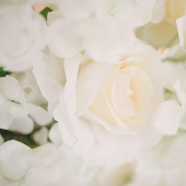 blomstervägg till event